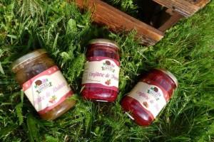 confiture fruits rouges ardeche bio