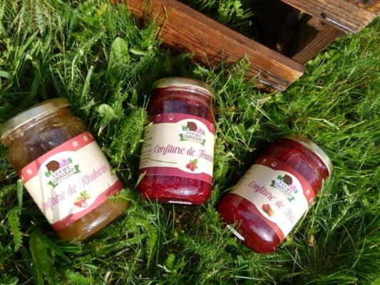 confiture fruits rouges ardeche bio